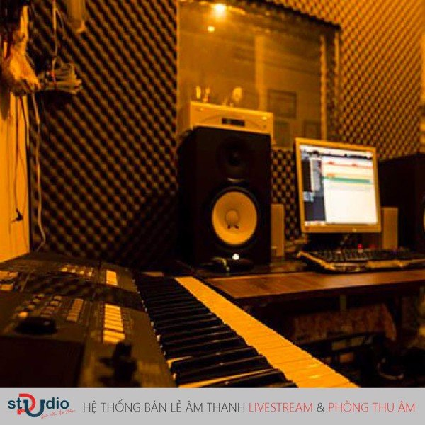 phòng thu âm tại nhà