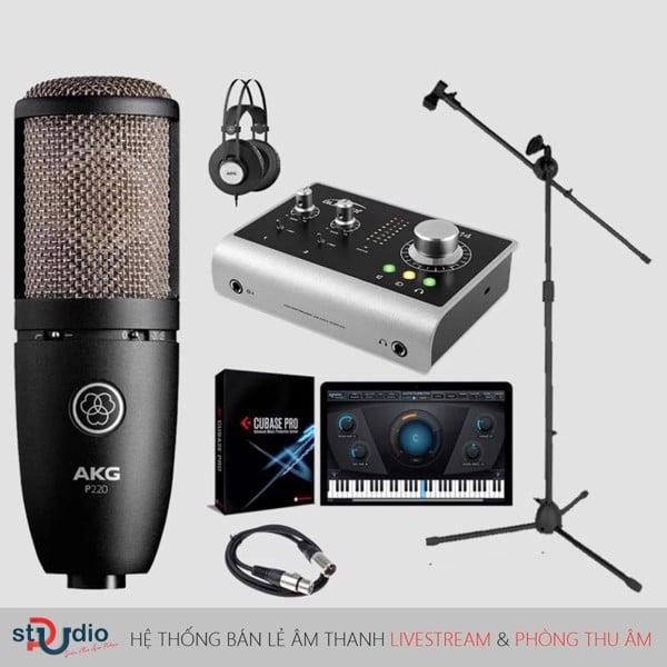 bộ thu âm hát karaoke cao cấp gồm những thiết bị nào