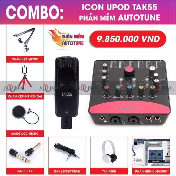 bo-thu-am-livestream-icon-upod-pro-takstar-tak55-micro-thu-am