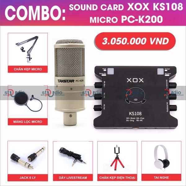 bo-thu-am-livestream-karaoke-xox-ks108-mic-thu-am-isk-at100