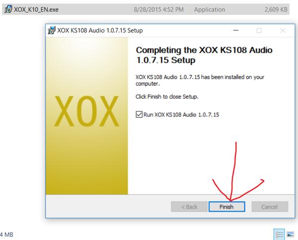 Hướng dẫn cài đặt Driver soundcard XOX K10/Ks108