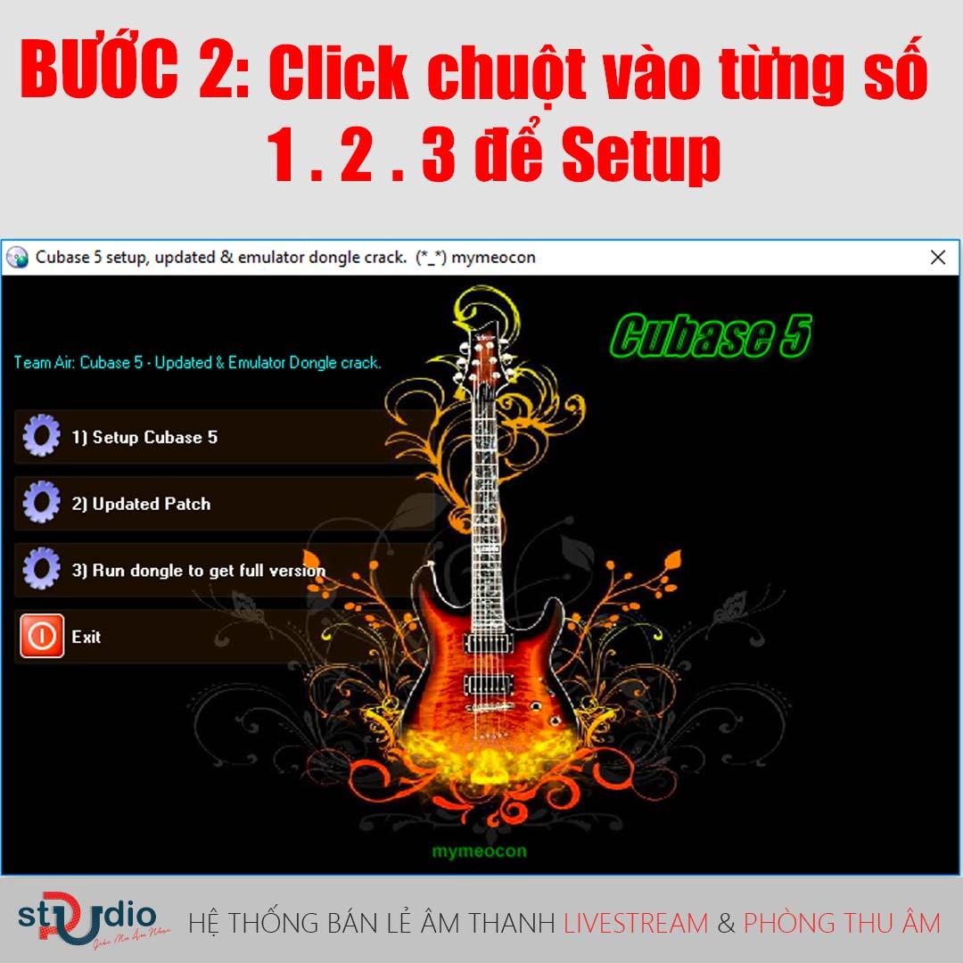 Hướng dẫn tải và cài đặt         ứng dụng thu âm Cubase 5 Full Crack