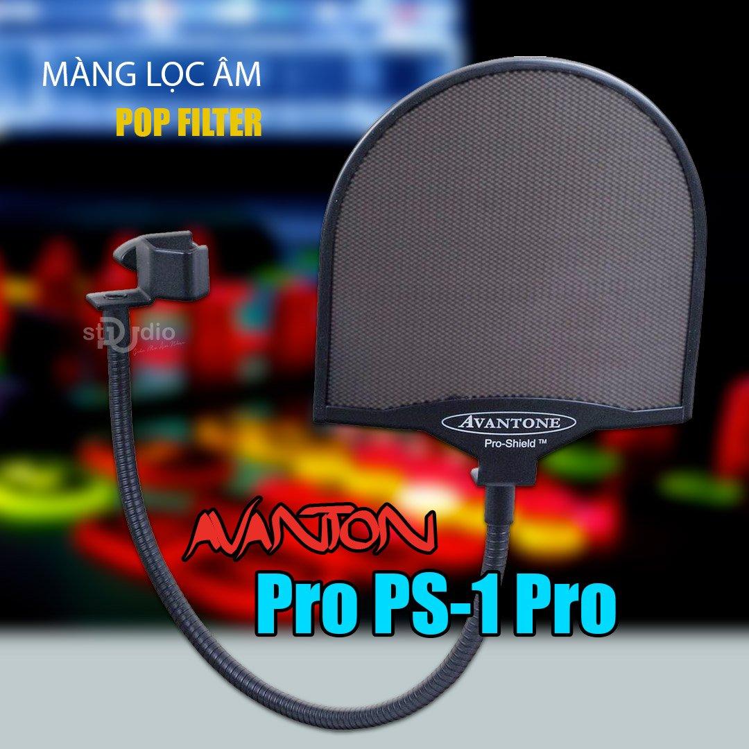 Màng lọc âm AVANTONE SP-1 PRO (POP FILTER), lưới SẮT