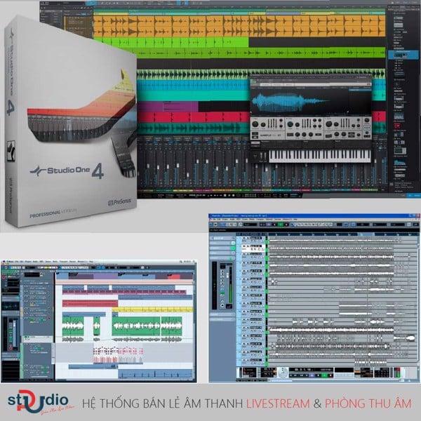phần mềm thu âm nhạc trên máy tính