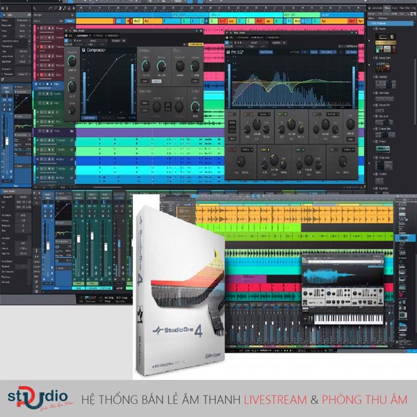 phần mềm thu âm presonus studio one 4