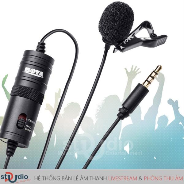 mic thu âm hát karaoke trên điện thoại Boya By-M1