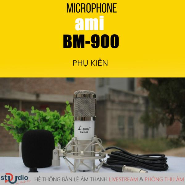 micro thu âm hát karaoke trên điện thoại BM900 Woaichang