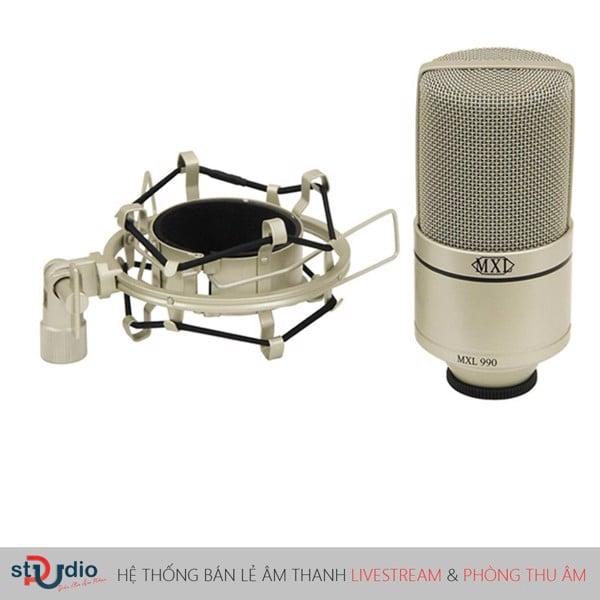 thiết kế nổi bật của micro thu âm mxl