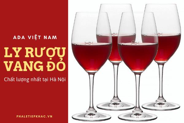 Rượu vang đỏ chất lượng tại Hà Nội