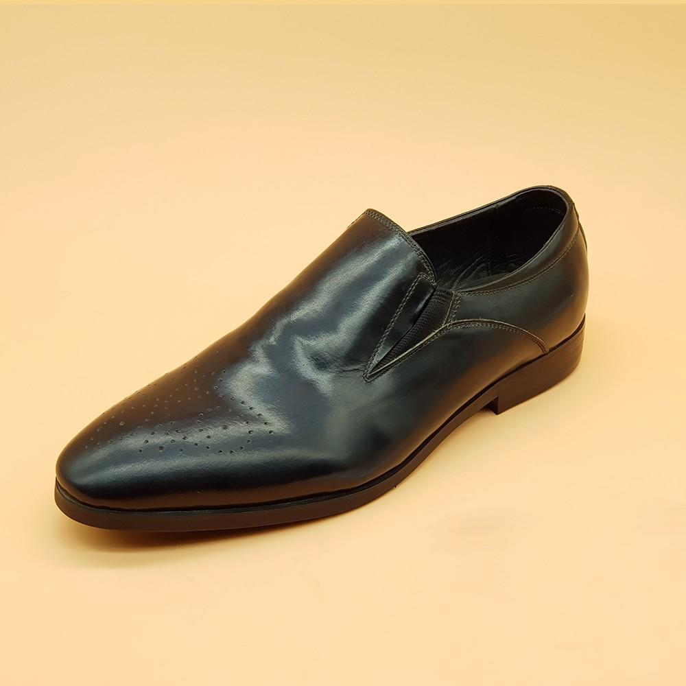 Giày Tây Nam Kiểu Lười Ensado 161216 (Đen) 3