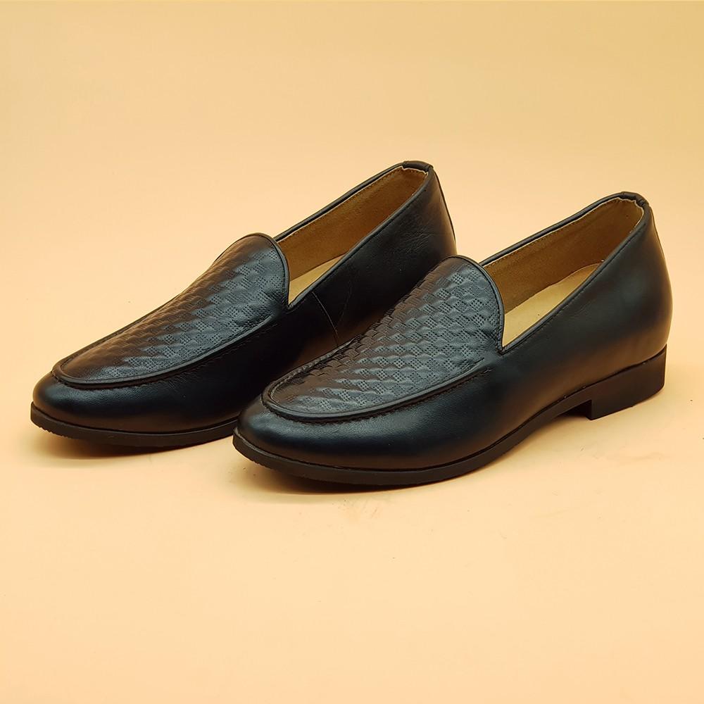 Giày Tăng Chiều Cao Nam  Cao Thêm 5cm Ensado 161316 (Đen) 2
