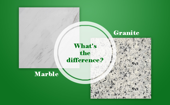 What is difference between Marble & Granite?