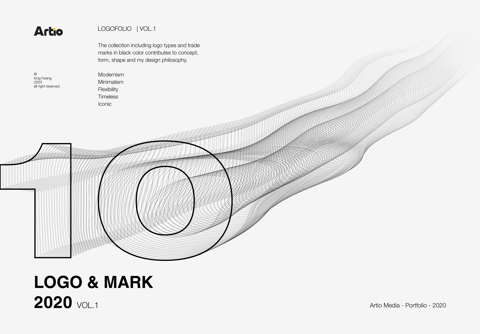 10 LOGO & MARK 2020 VOL.1 BY ARTIO MEDIA