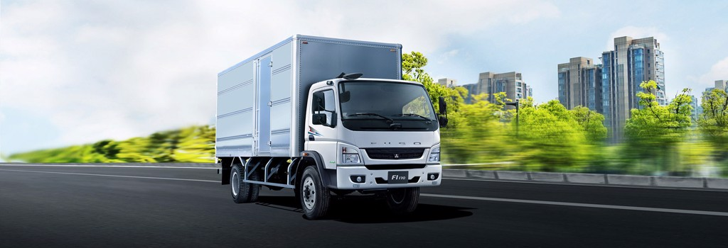 xe tải mitsubishi 8 tấn fuso fi170