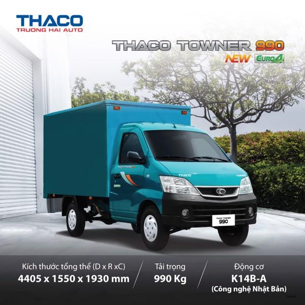 Xe tải 1 tấn Thaco Towner 990