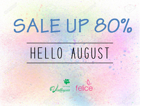 Hello August - Sale up 70%
