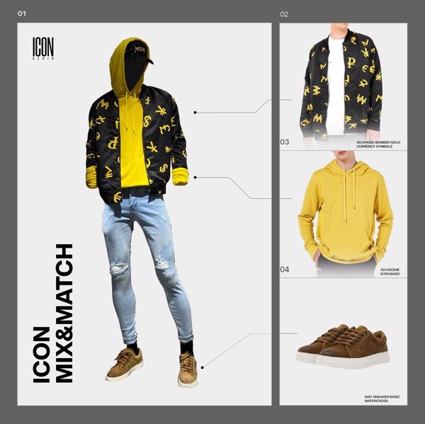 ICON MIX & MATCH | Yellow Is The New Black