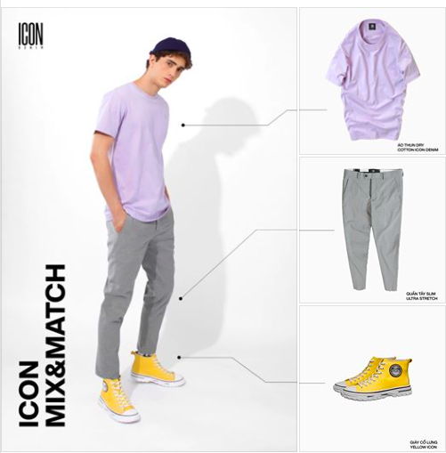 ICON MIX & MATCH |  Simple But Outstanding