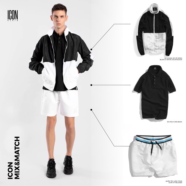 ICON MIX & MATCH | Black & White Monochrome Outfit