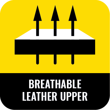 breath able leathe rupper