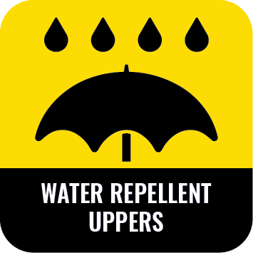 water repellent uppers