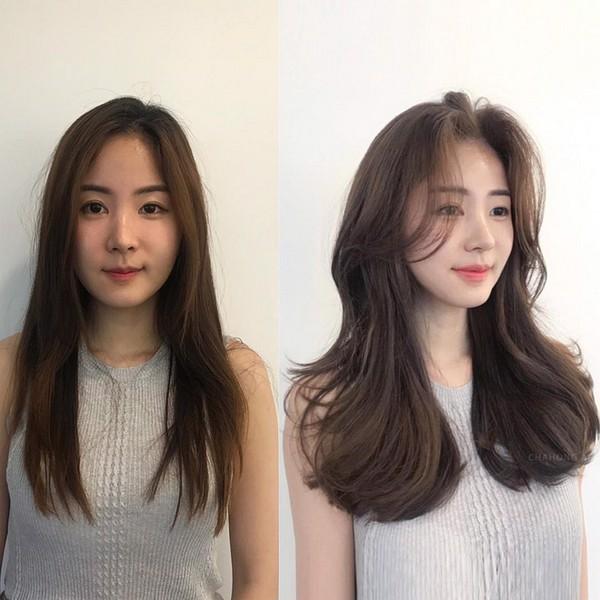 3 Kiểu tóc dành riêng cho những cô nàng mặt vuông