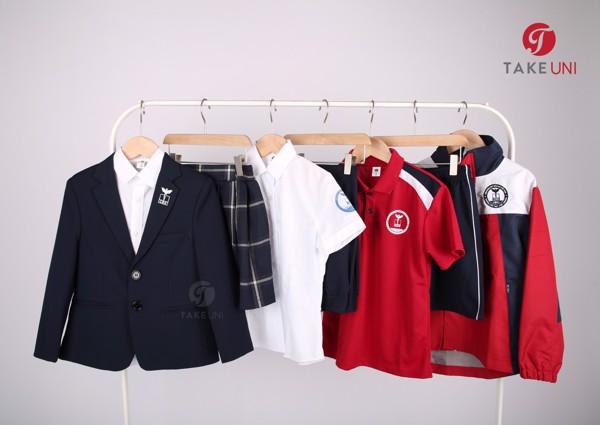 bộ sản phẩm đồng phục học sinh mang tính đồng bộ của TakeUni