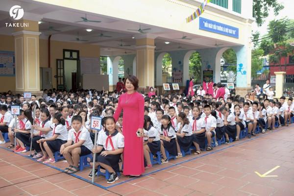 Đồng phục tiểu học Trưng Vương