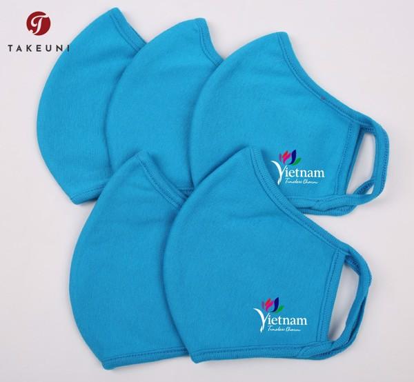 Đồng phục khẩu trang dành cho các doanh nghiệp được thiết kế và sản xuất bởi TakeUni