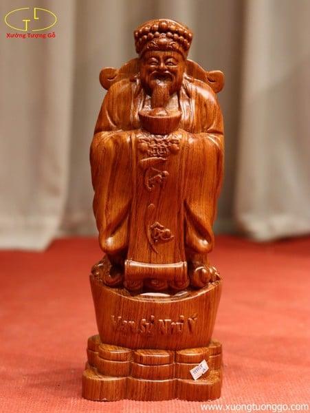 Tượng gỗ thần tài