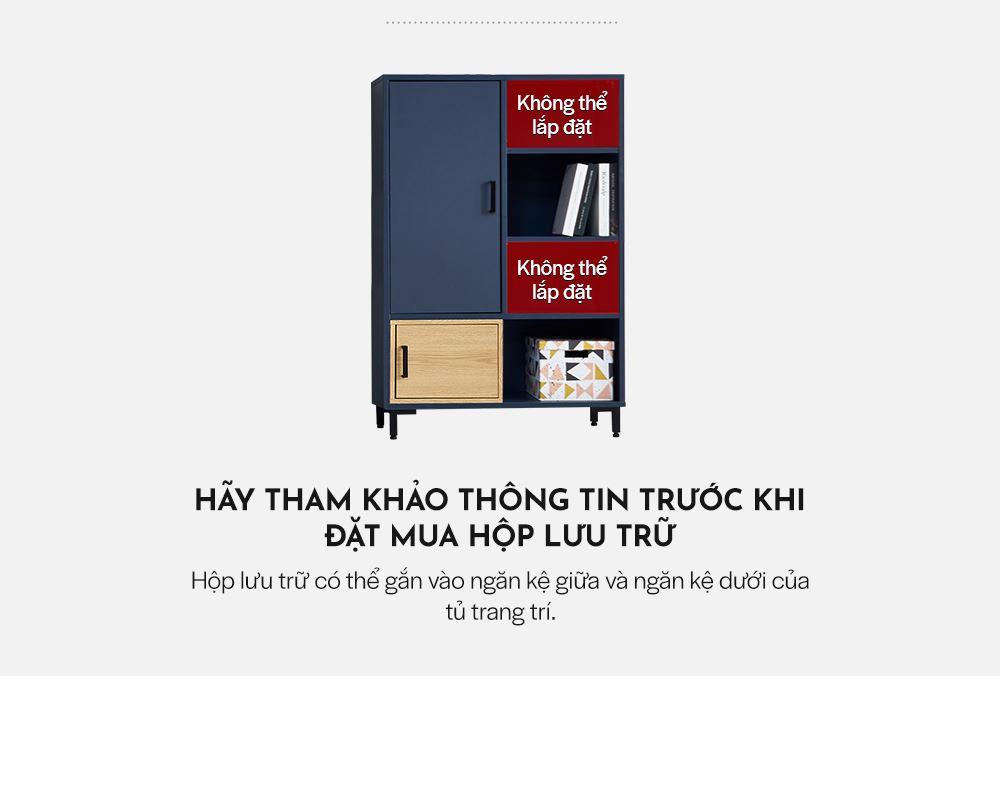 LS018 - TỦ TRANG TRÍ MDF ĐA NĂNG 800 - CHI TIẾT 02