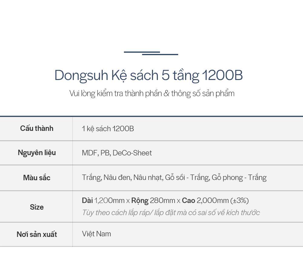 BS006 - KỆ SÁCH ĐA NĂNG 5 TẦNG CÓ NGĂN TỦ - THÔNG TIN SP