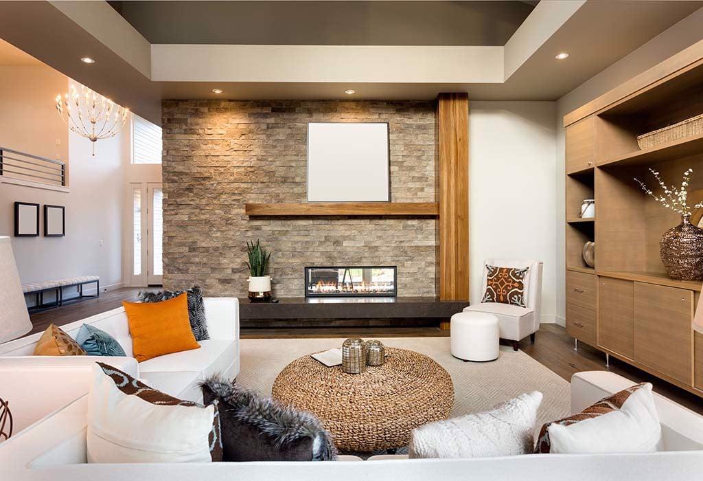 Trang trí nội thất phòng khách nhà ống