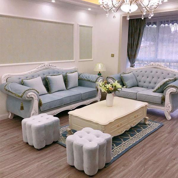sofa bọc nhung