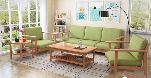 bàn ghế gỗ đơn giản