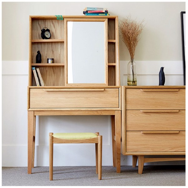 bàn trang điểm gỗ đa năng