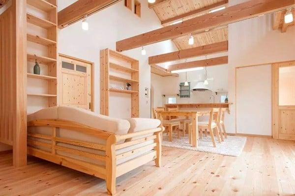 nội thất gỗ thông