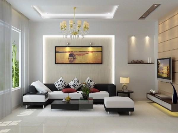 nội thất phòng khách phong cách hiện đại