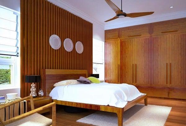 cách đặt giường ngủ theo phong thủy