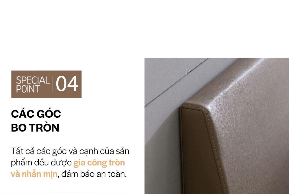 DB023A - GIƯỜNG DA PU SIZE QUEEN - CHI TIẾT 04