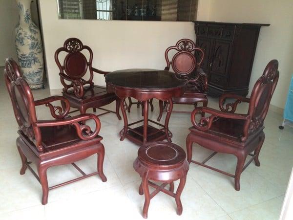 thanh lý bàn ghế gỗ giá rẻ