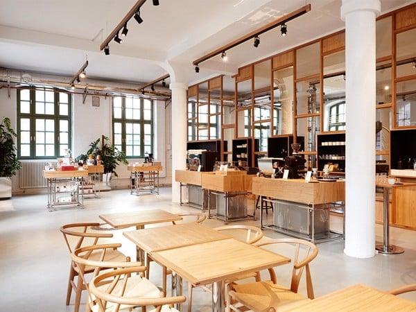 thanh lý nội thất gỗ cafe