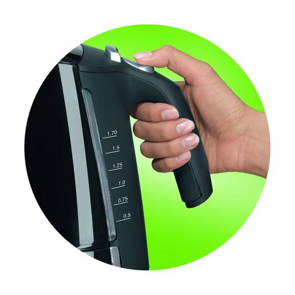 Công tắc bật/ tắt và nút mở nắp đơn giản, dễ sử dụng