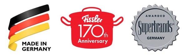 Thương hiệu Fissler hơn 170 năm kinh nghiệm.