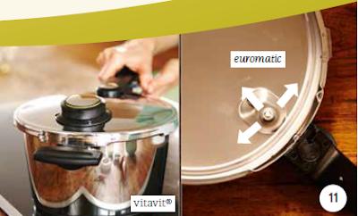 Van Euromatic - một bộ phận trong hệ thống an toàn nhiều tầng của nồi áp suất Fissler