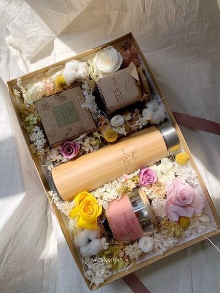 Hoa khô - Hoa quà tặng độc đáo