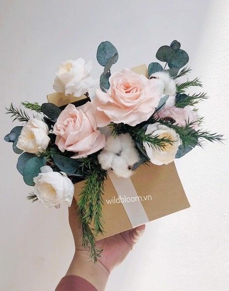 Sự kết hợp hoa quà tặng độc đáo