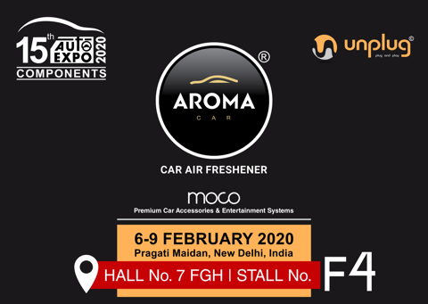 Aroma Car - Auto Expo Components 2020 - India