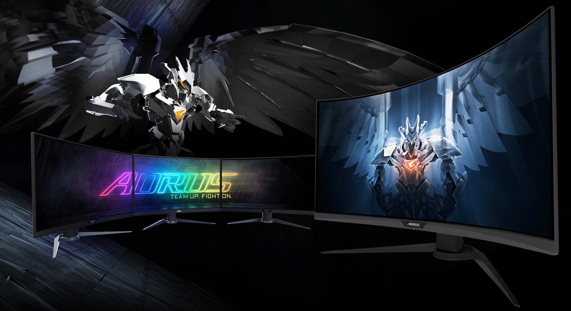 GIGABYTE ra mắt màn hình gaming AORUS CV27F – Cong 1500R, tần số quét 165Hz cho độ trễ 1ms