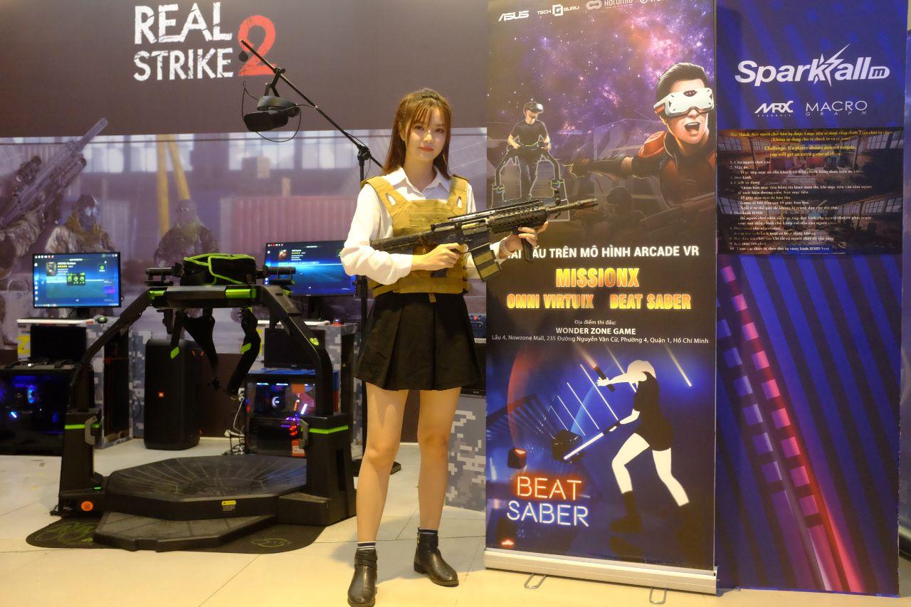 Sự kiện giải đấu trên mô hình Arcade VR do ASUS, Techguru và Holomia tổ chức thành công tốt đẹp